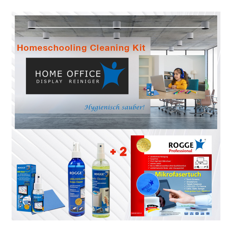 Homeschooling Cleaning Kit