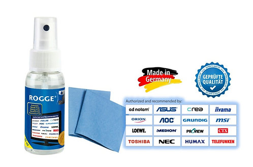 ROGGE DUO-Clean® Travel Original 50ml inkl. 2 x ROGGE Prof. Microfasertücher