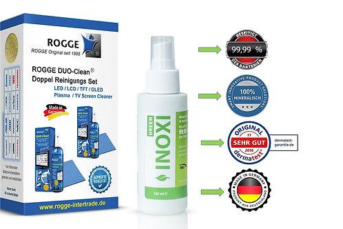 INOXI GREEN Sprüh-FLächendesinfektion + ROGGE DUO-Clean DoppelSet