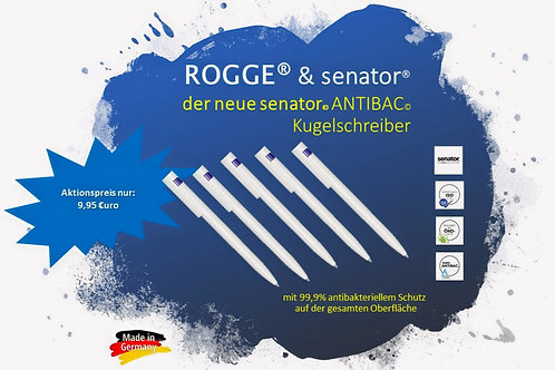 ROGGE & senator Antibac Kugelschreiber- 5 Stück