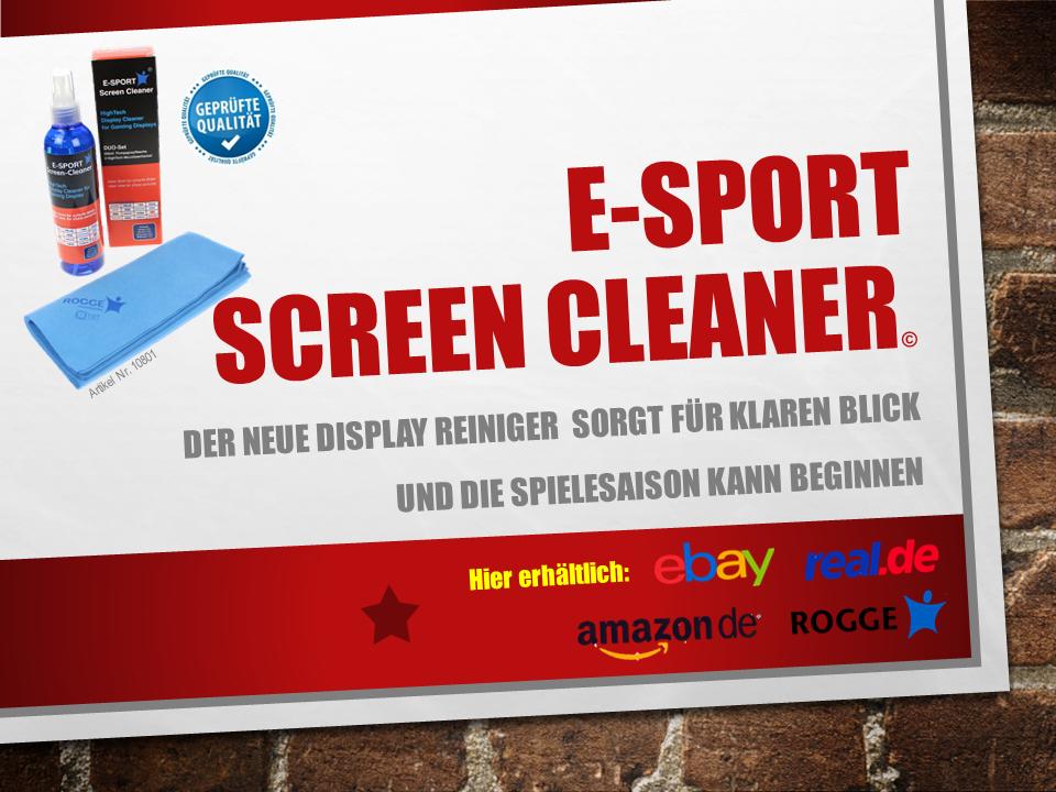 E-SPORT Screen Cleaner Angebot 02-21