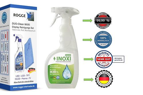 INOXI GREEN 750ml Sprüh-FLächendesinfektion+ ROGGE 750ml Screen Cleaner