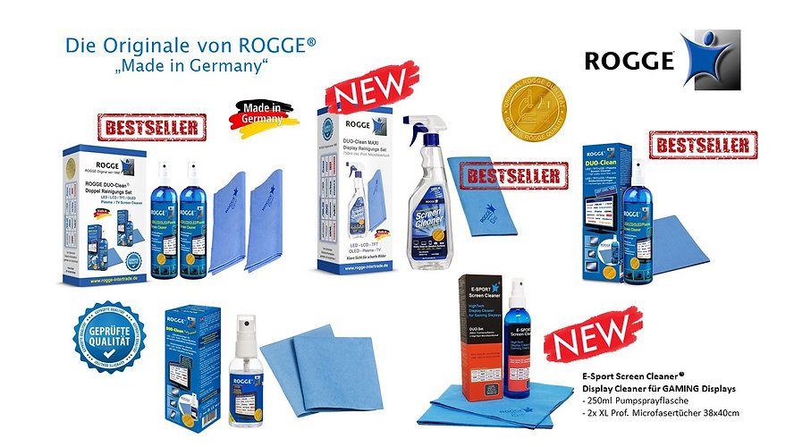 ROGGE Screen Clean Original seit 1998 Made in Germany