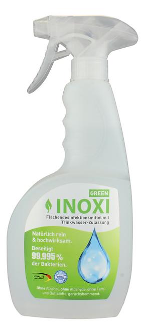 INOXI GREEN DESINFEKTION Sprühdesinfektion