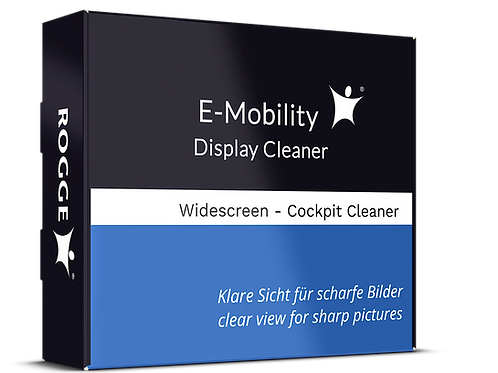 E-Mobility Display Cleaner. 50ml inkl. 4x Prof. Microfasertücher