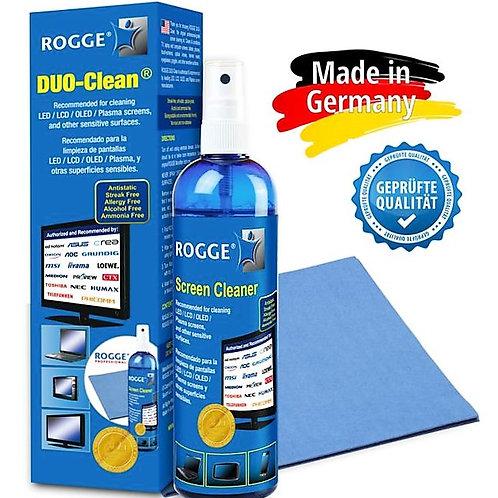 ROGGE DUO-Clean Original, 250ml Screen Cleaner Kit inkl. 1 Prof. Microfasertuch