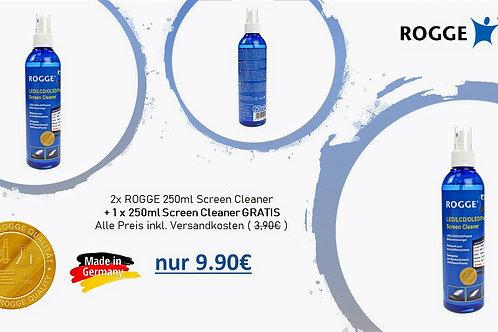 """""""3für2"""" ROGGE Screen Cleaner 250ml - Nachfüllbar."""