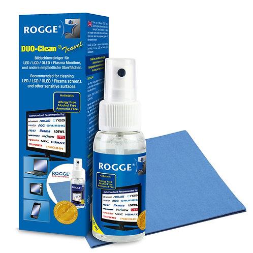 ROGGE DUO-Clean® Travel Original 50ml Screen-Cleaner inkl. 2 ROGGE Prof. Microsa