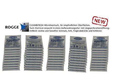 ROGGE CLEAN & FRESH Microfasertücher 50er Pack