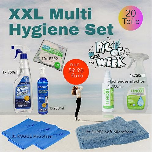 ROGGE Multi Hygiene & Pflege Set - 20 Teile