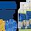 Thumbnail: ROGGE EDV Reinigungsset - Displayreiniger & Kunstoffreiniger+ 2 Microfasertücher