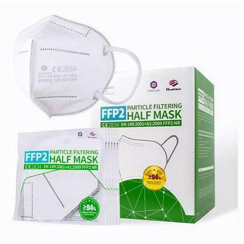 40 Stück - SQ Einweg-Atemschutzmaske FFP2 - nach DIN EN149:2001 + A1:200940