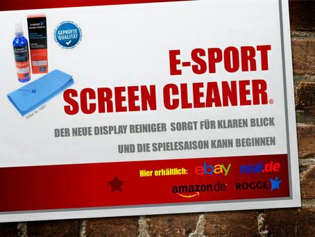E-Sport Displaycleaner für Gaming Monitore, ab sofort auch hier erhältlich.