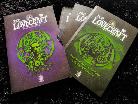 Box - H.P. Lovecraft: Os Melhores Contos Volume 1