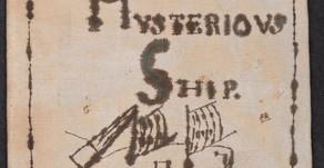 O Navio Misterioso - H.P. Lovecraft (tradução + análise)