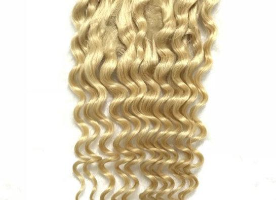 Blonde Deep Wave Closure