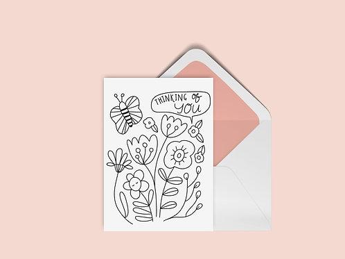 FREE UColor Garden Card