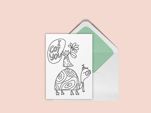 FREE UColor Mouse Card