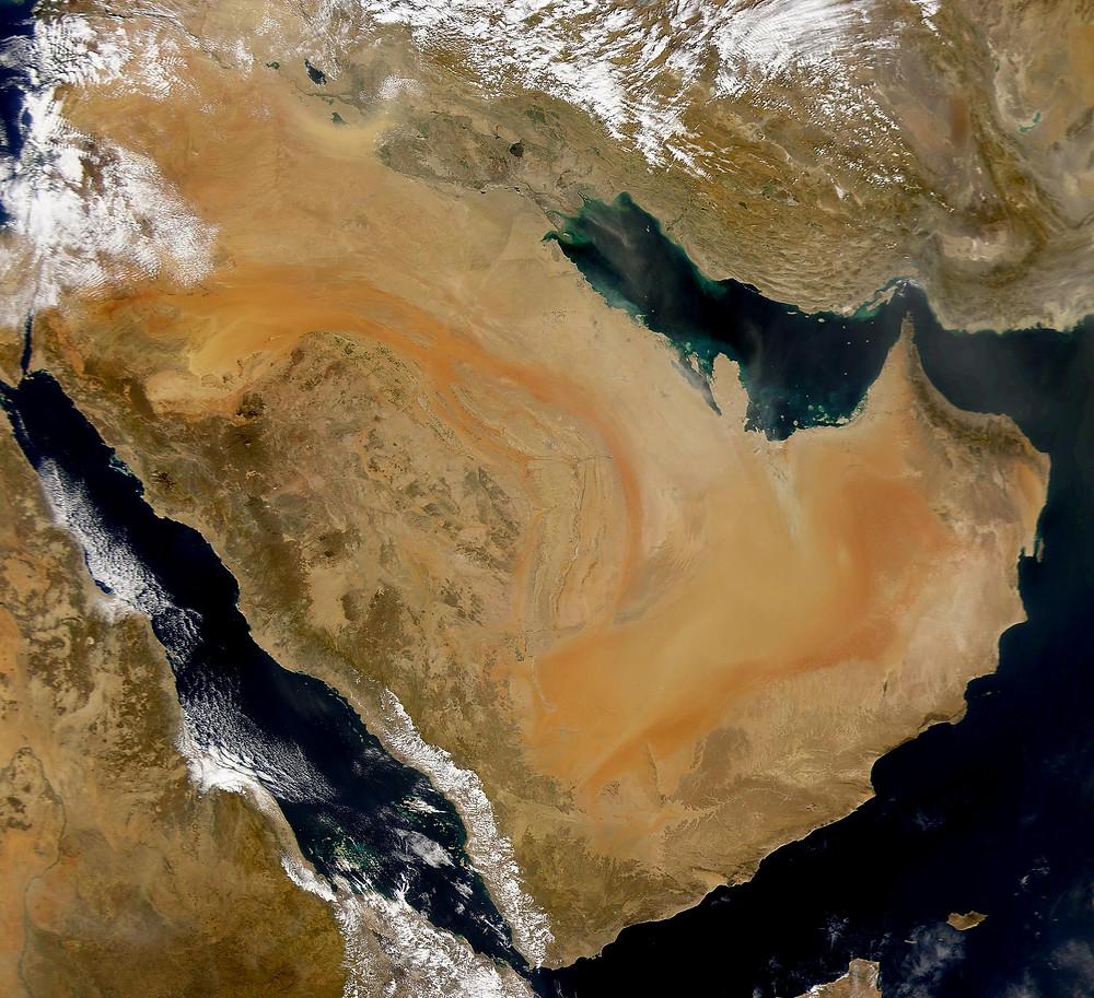 Image of the Arabian Peninsula