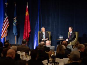 Ambassadors model diplomacy at Anniversary Event