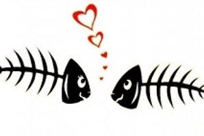 Dos peces enamorados