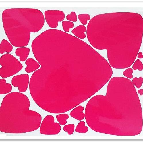 Corazónes gotas de amor 1 folio