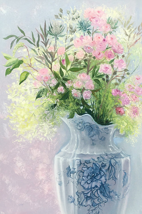 Pink Roses 50 x 60 cm