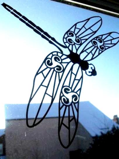 Gran libélula 1 color