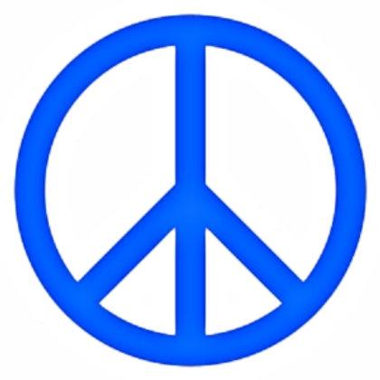 Símbolos de la paz 1 color