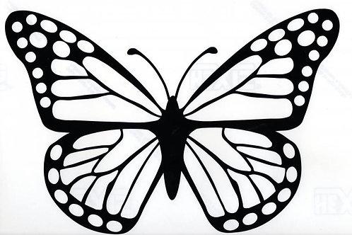 Gran mariposa 1 color