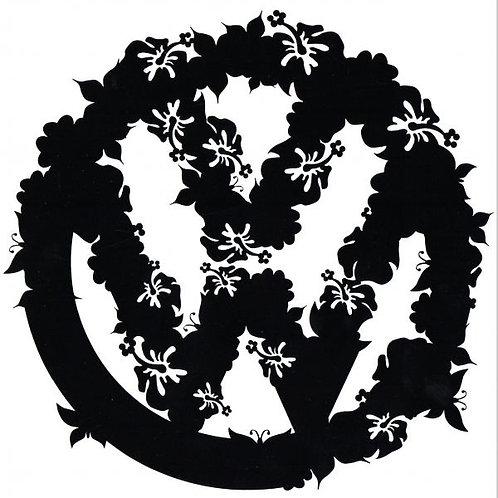 Logo VW con flores