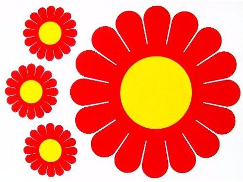 Kit 4 Flores Gerberas