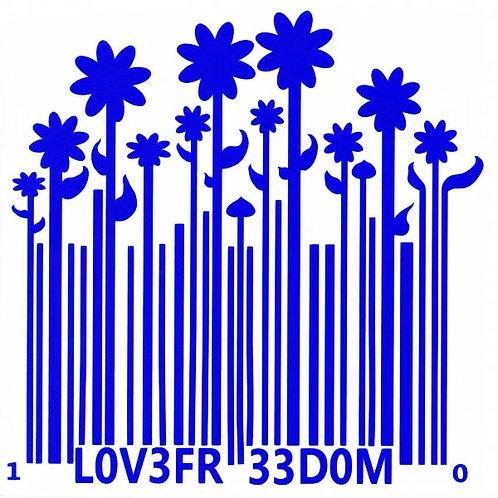 Código de barra con flores
