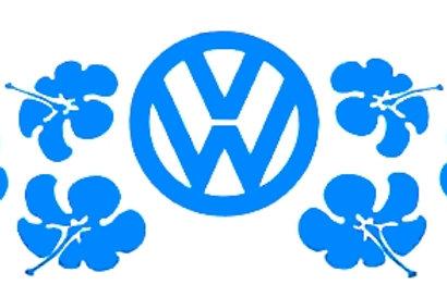 Hibiscus con logo VW
