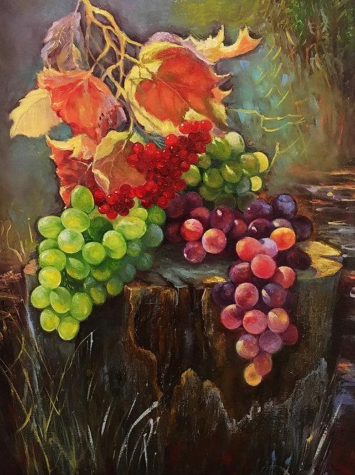 Grapes 40 x 50 cm