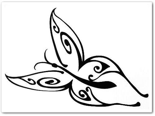 Tribal de mariposa