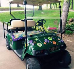 golf carstickers adhesivos para coches