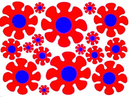 36 Flores de la Mancha 2 folios