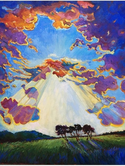 Clouds 51 x 60 cm