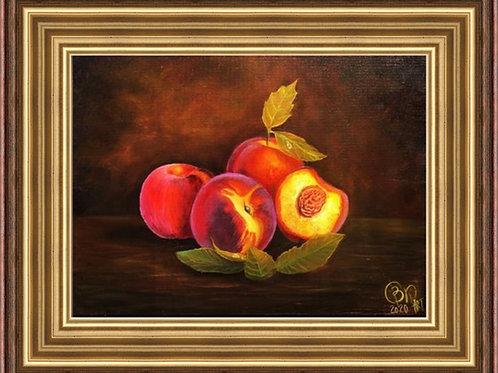 Peaches 30 x 40 cm
