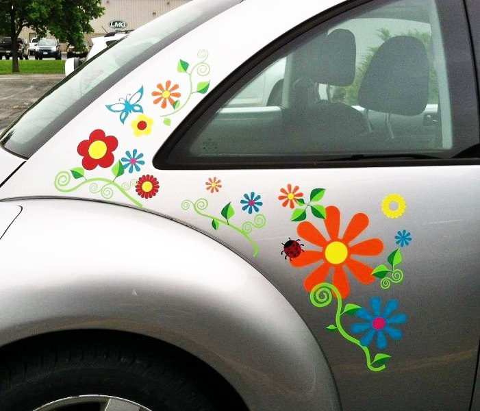 vinilos adhesivos para decor de coche