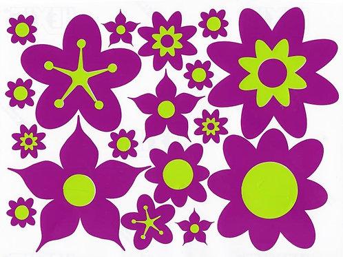 36 Flores Retro 2 folios