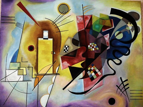 Yellow-Red-Blue. Passion for Kandinsky