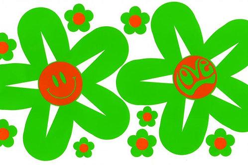 2 Flores con mensajes 145 mm