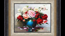 Peonies. Flower bouquet