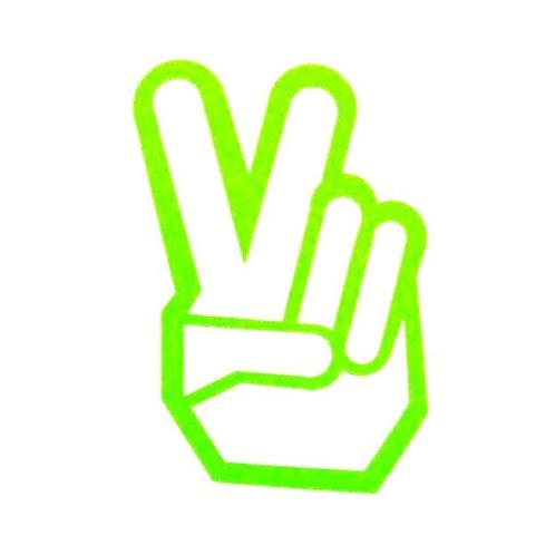 Signo de la paz con dos dedos