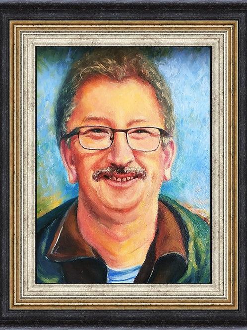 Male portrait 40 x 50 cm