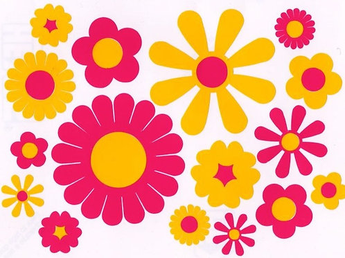 Flores funky 2 folios