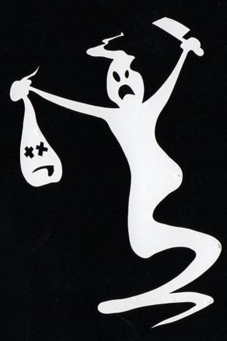 Fantasma con cabezas