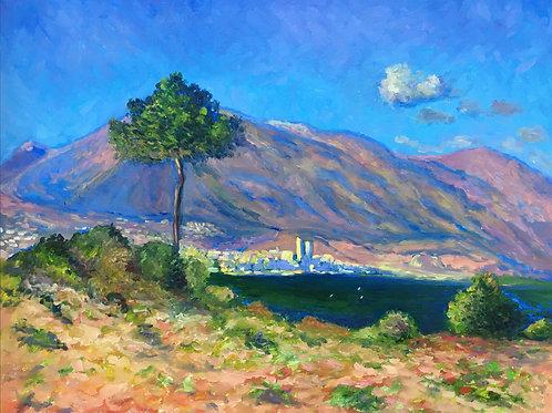 Landscape 40 x 50 cm